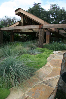 Rb landscapes for Back garden designs australia